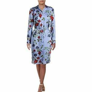 RALPH LAUREN 6 Blue Aerrol Pinstripe  Dress M6-07